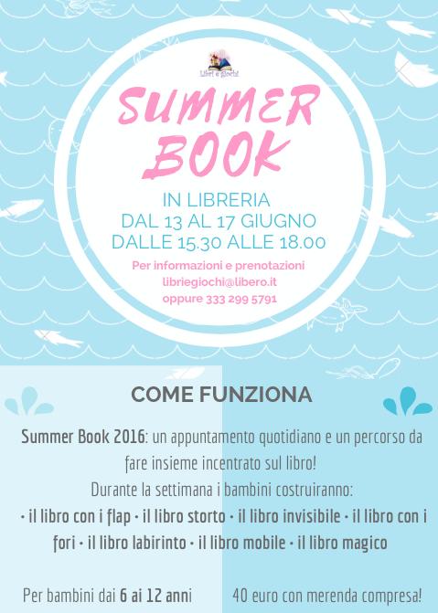 Finisce la scuola… inizia Summer Book!