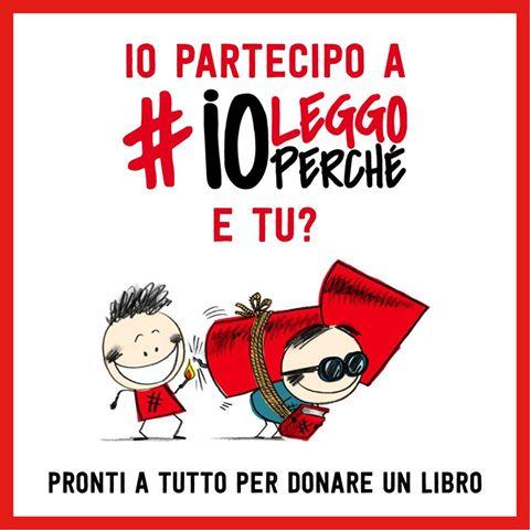 #ioleggoperchè: anche la Libreria aderisce al progetto!