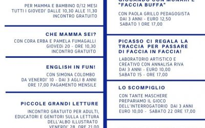 CALENDARIO EVENTI FEBBRAIO