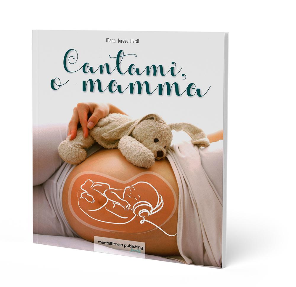 libro cantami o mamma con mamma incinta