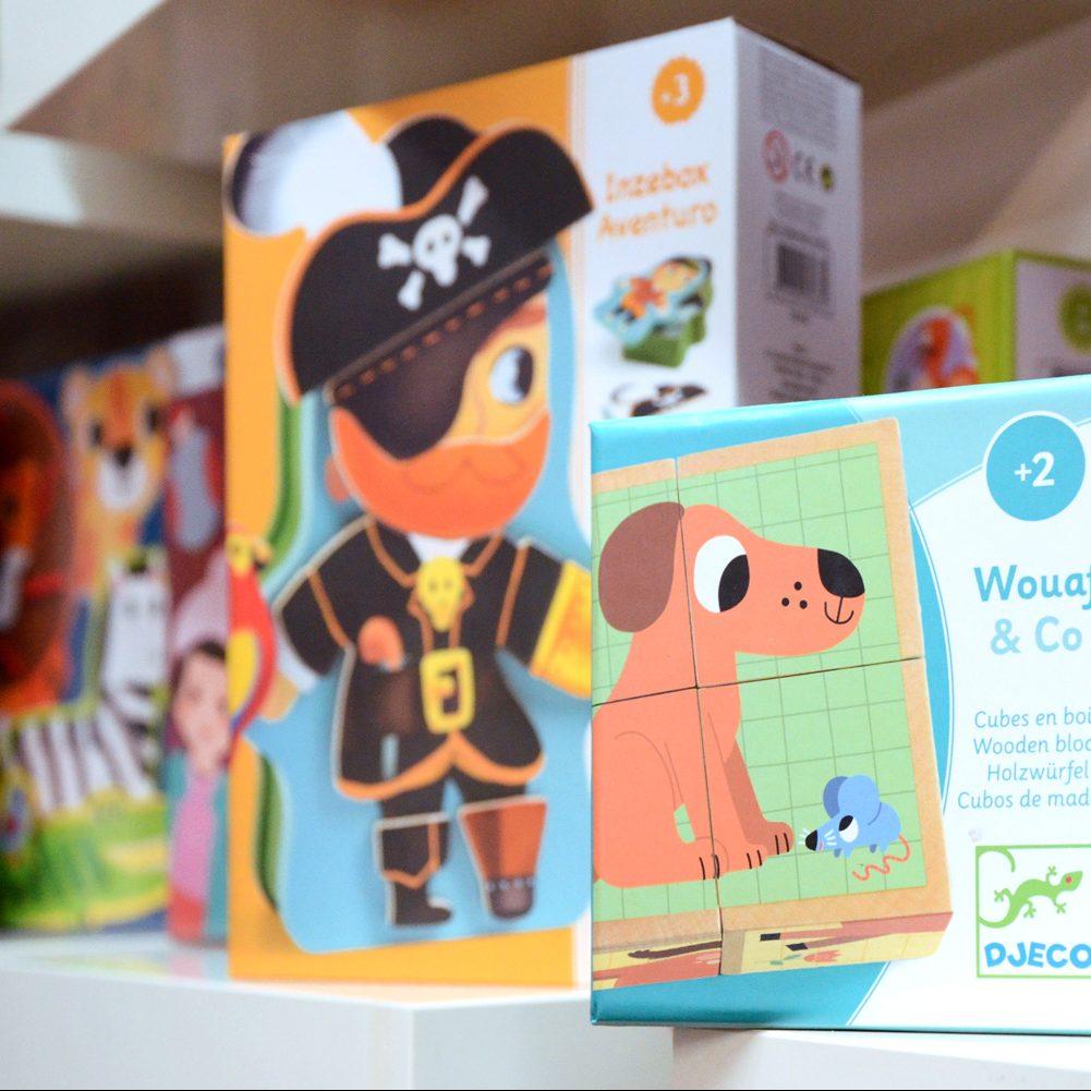Giochi in scatola per bambini piccoli