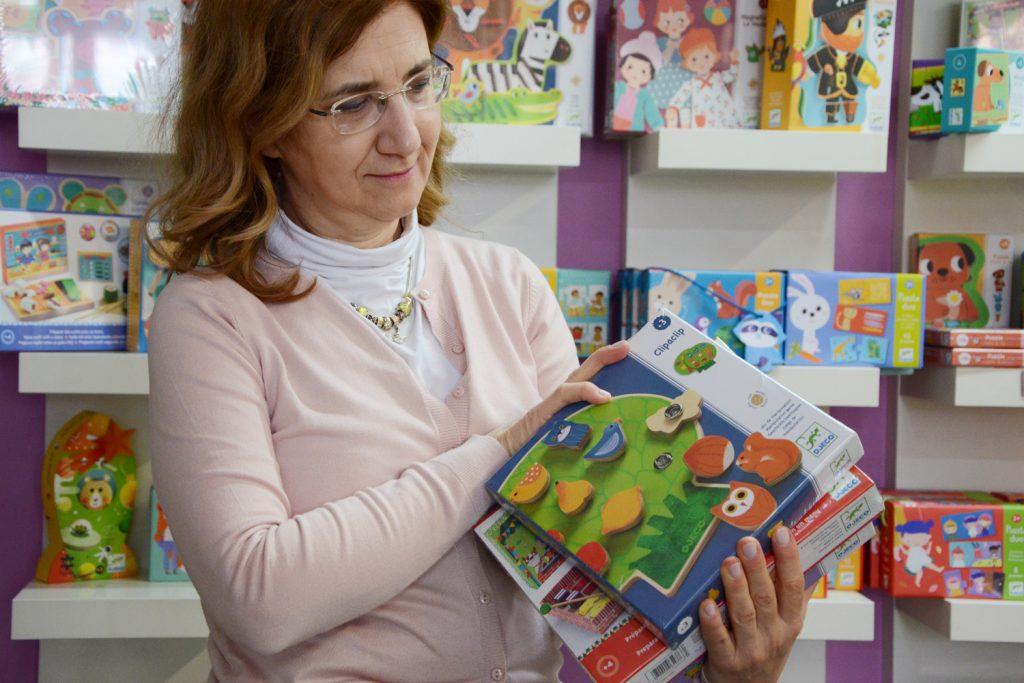 Maria Teresa Nardi della libreria Libri e Giochi